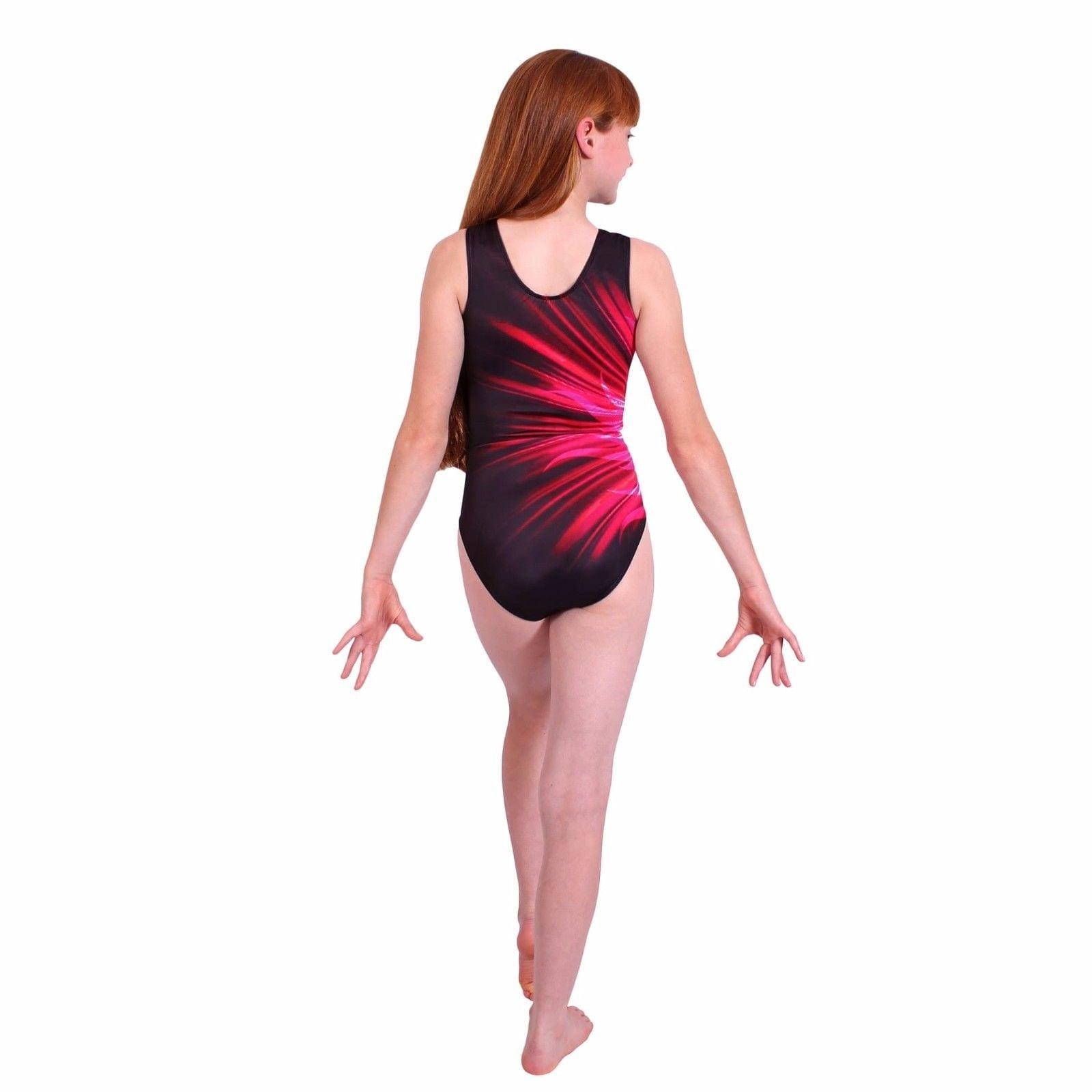 ccce11ca6434 really cheap ed138 00e37 age 5 6 7 8 flare girls gymnastics leotard ...