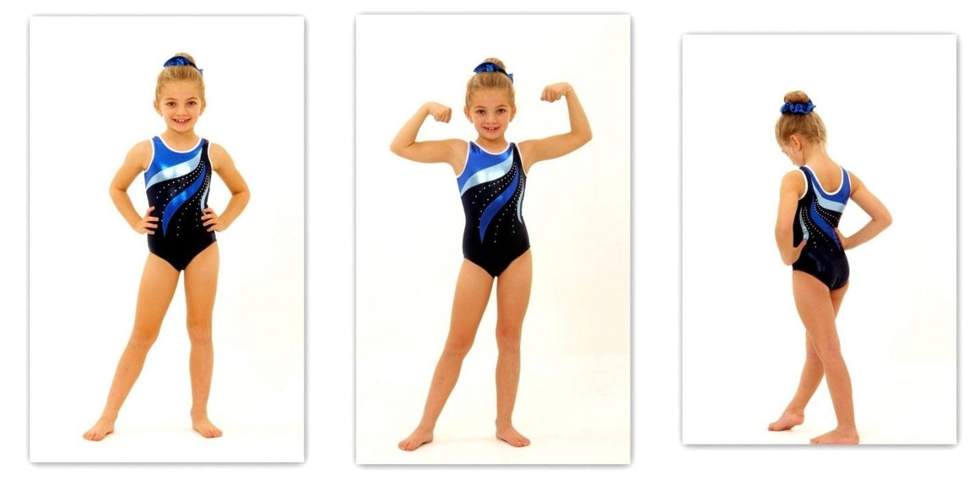 Gymnastics leotards